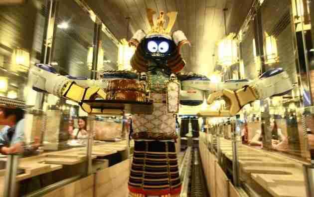 hajime robot restaurant bangkok