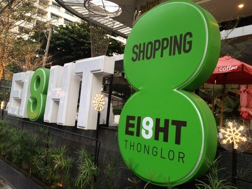 Thonglor shopping Bangkok