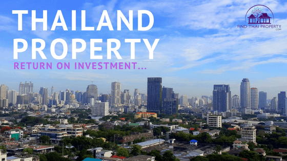 Thailand property return on investment