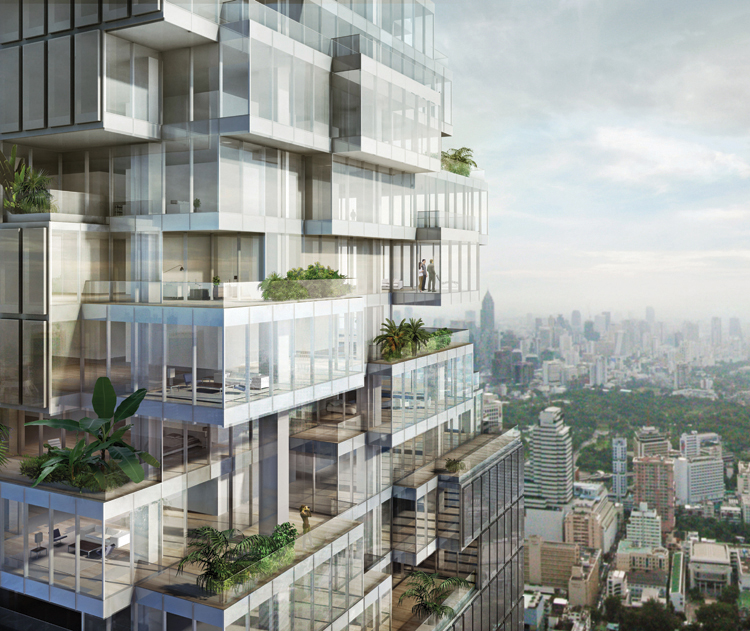 Find Thai Property Agency's Ritz Carlton Residences 1