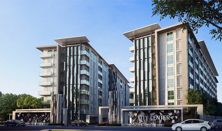 Find Thai Property Agency's City Center Residence 1