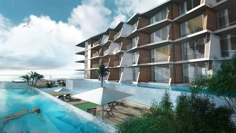 Find Thai Property Agency's The Beachfront Condo 1