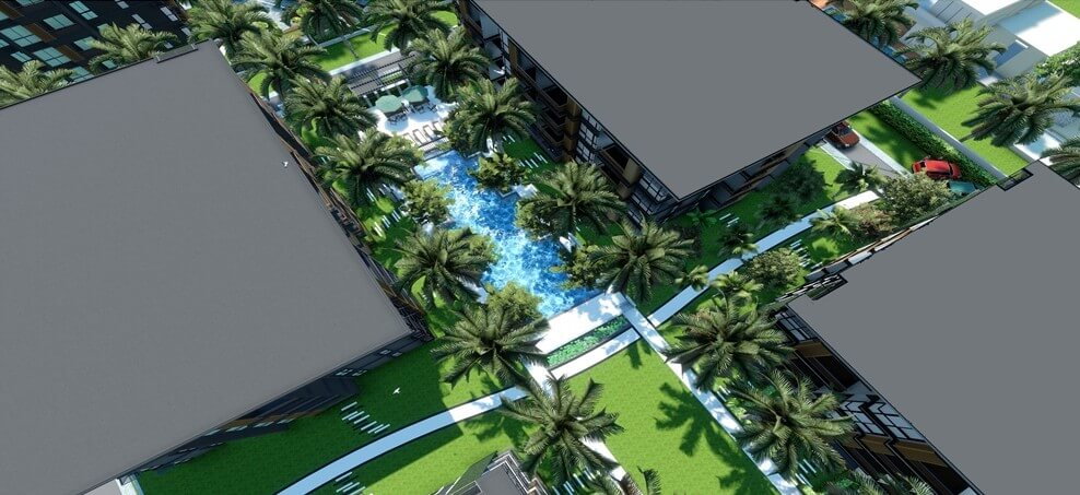 Find Thai Property Agency's The Title Beachfront Condo 12