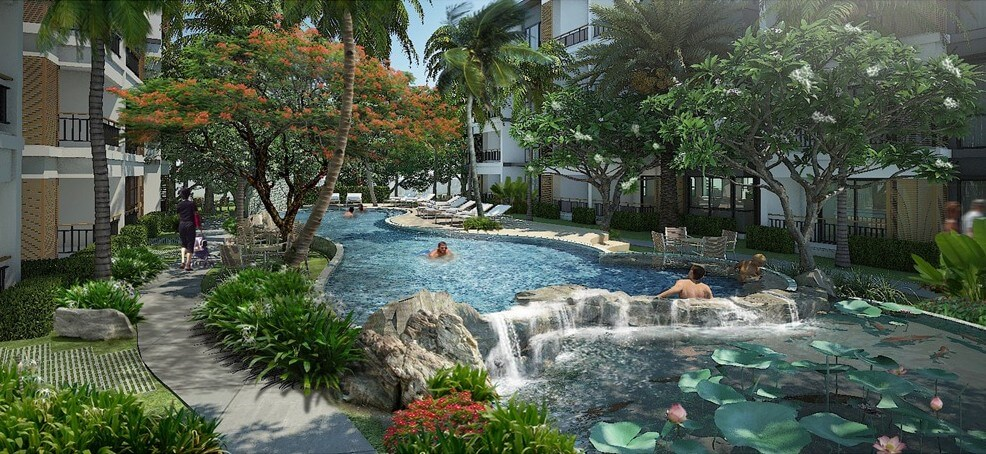 Find Thai Property Agency's The Title Beachfront Condo 9