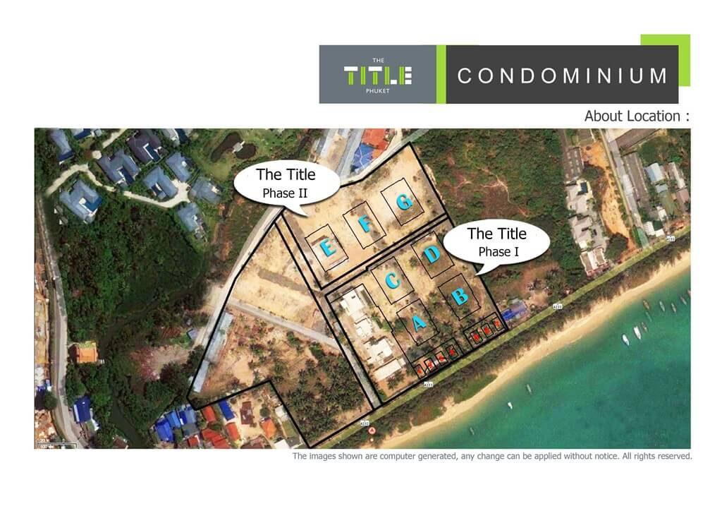 Find Thai Property Agency's The Title Beachfront Condo 16