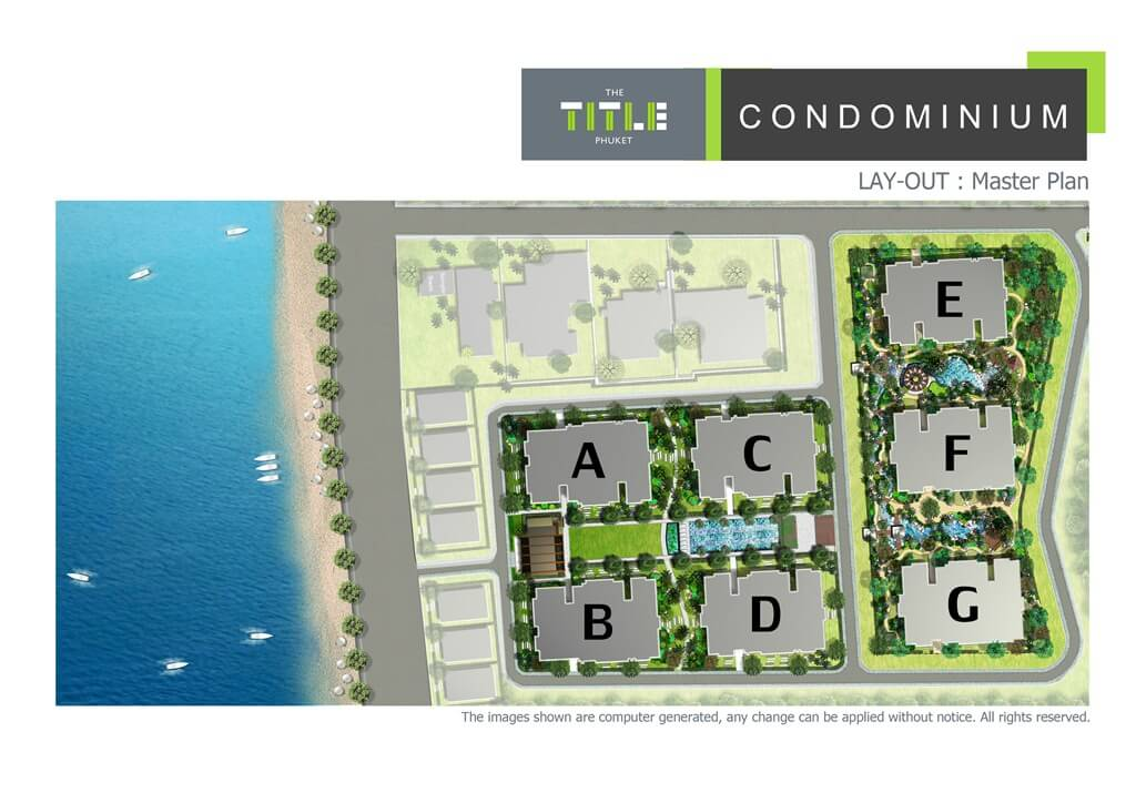 Find Thai Property Agency's The Title Beachfront Condo 15