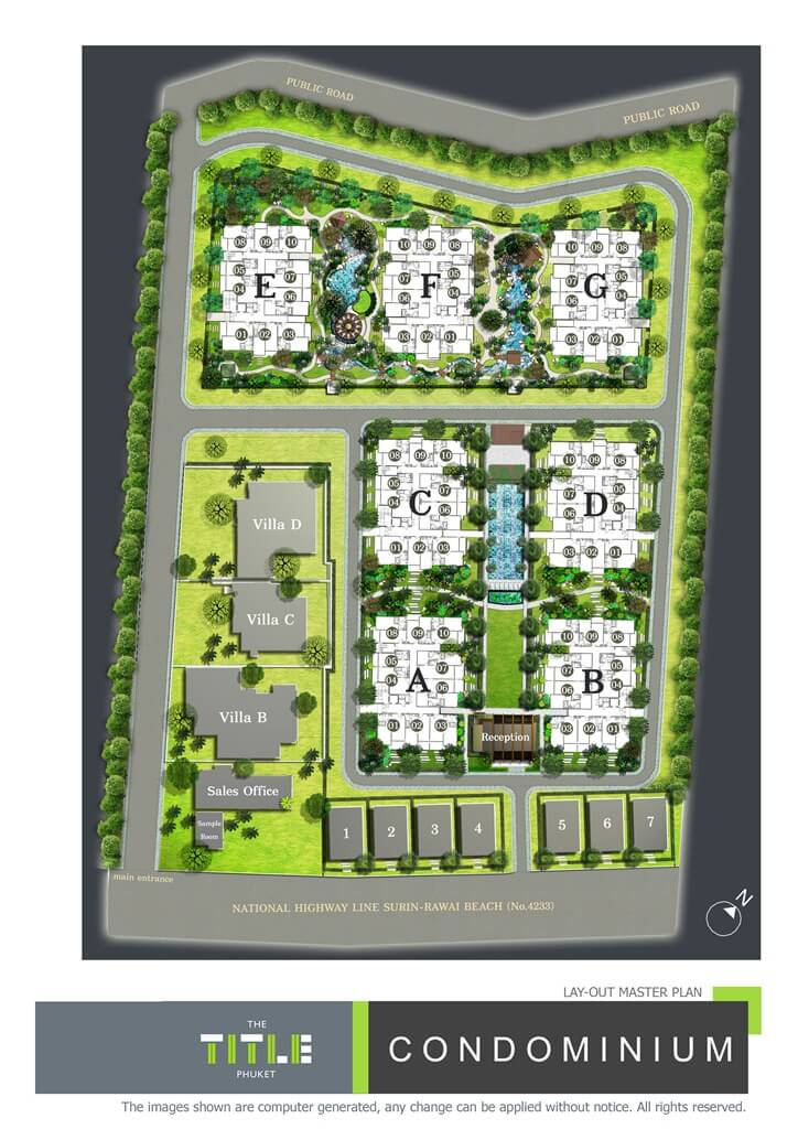 Find Thai Property Agency's The Title Beachfront Condo 14