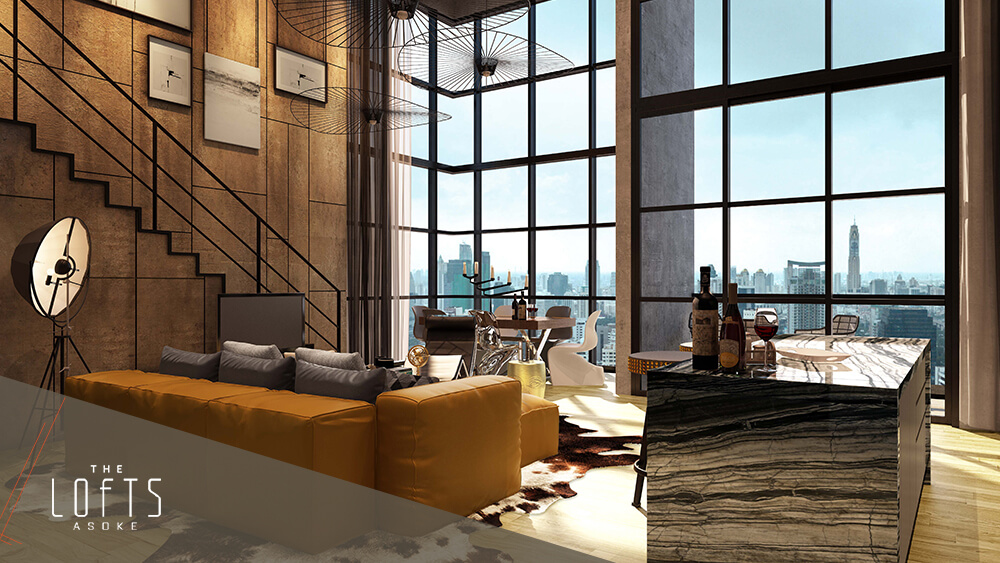 Find Thai Property Agency's The Lofts Asoke 7