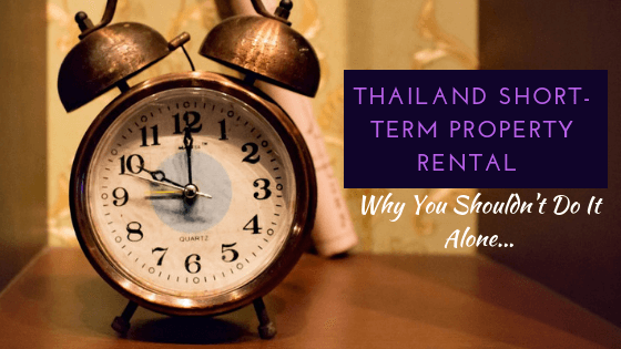 Short term thailand rental