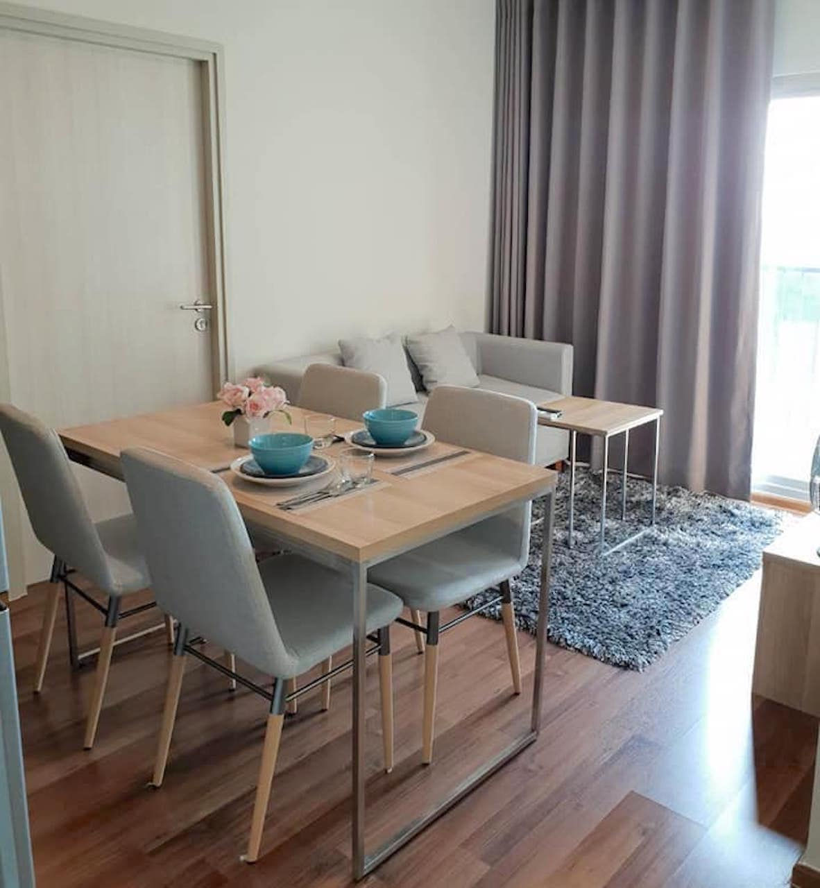 2 Bedroom Condo For Rent Bangkok: 160m To MRT Condo For Rent